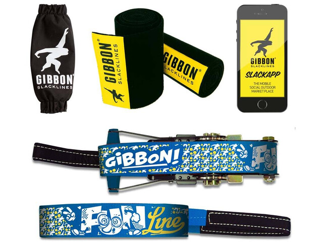 GIBBON Funline - Slackline - bleu